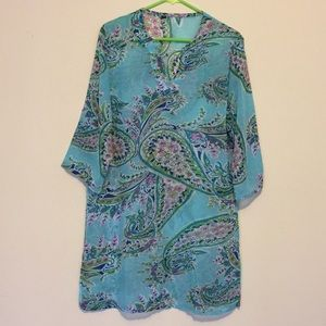 Other - Paisley Print Coverup